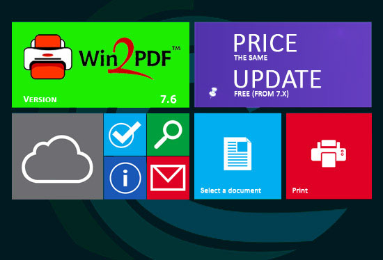 Win2PDF 10. Certificato per Windows 8.1